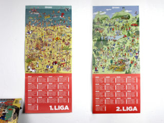 11 Freunde Bundesliga Poster