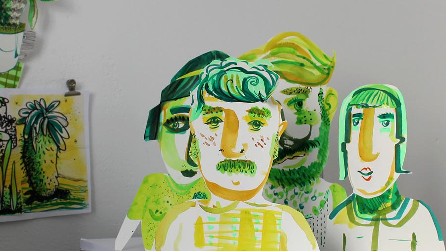 Schnipsel People by Diana Koehne