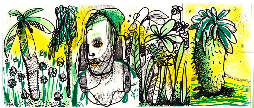 Sketchbook Jungle