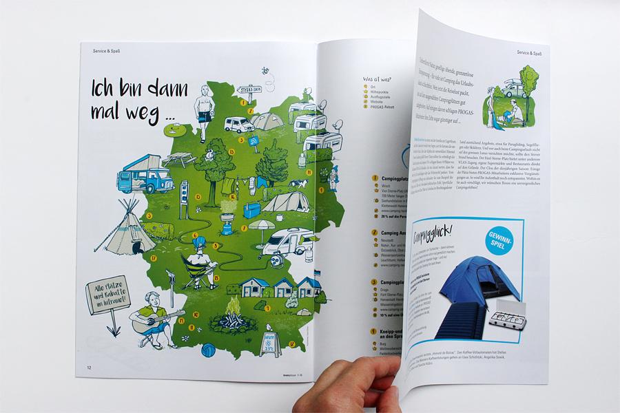 illustration deutschlandkarte