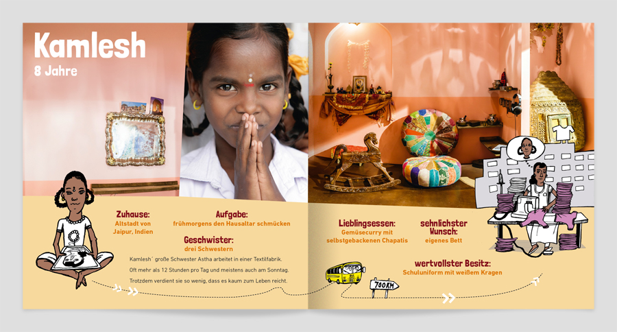 Illustrierte Ausstellungs-Dokumentation