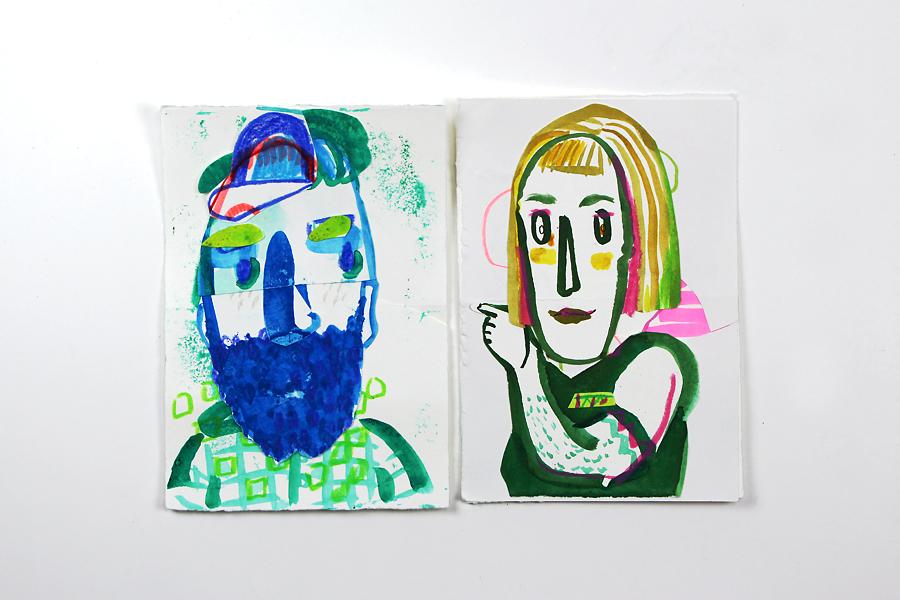 Skizzenbuch von Diana Köhne