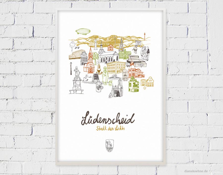 Lüdenscheid Poster