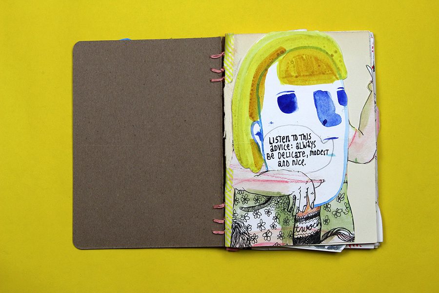 sketchbookproject by Diana Koehne