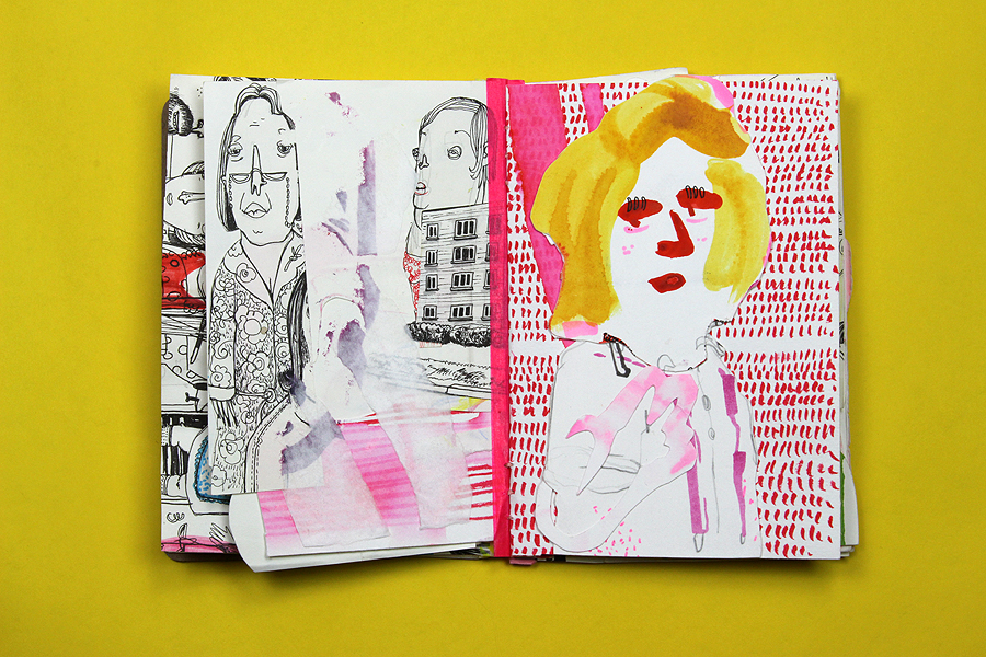 sketchbook project by Diana Koehne