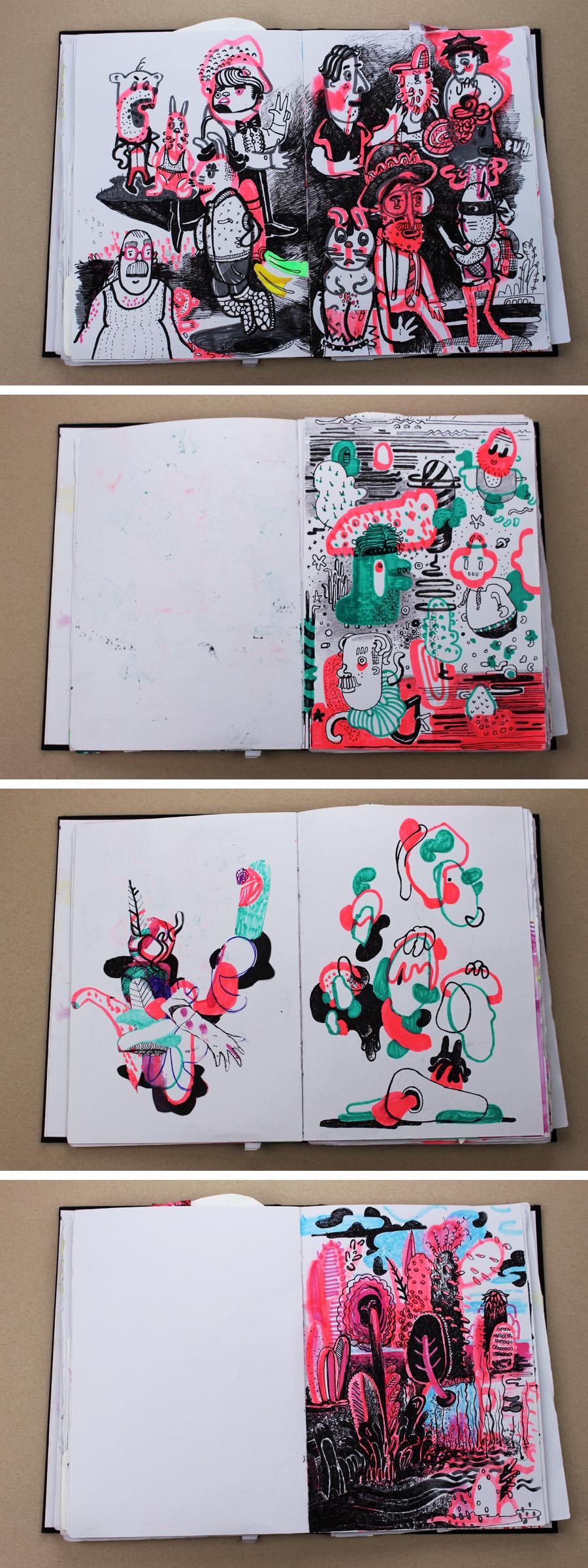 Wildes Skizzenbuch Diana Köhne