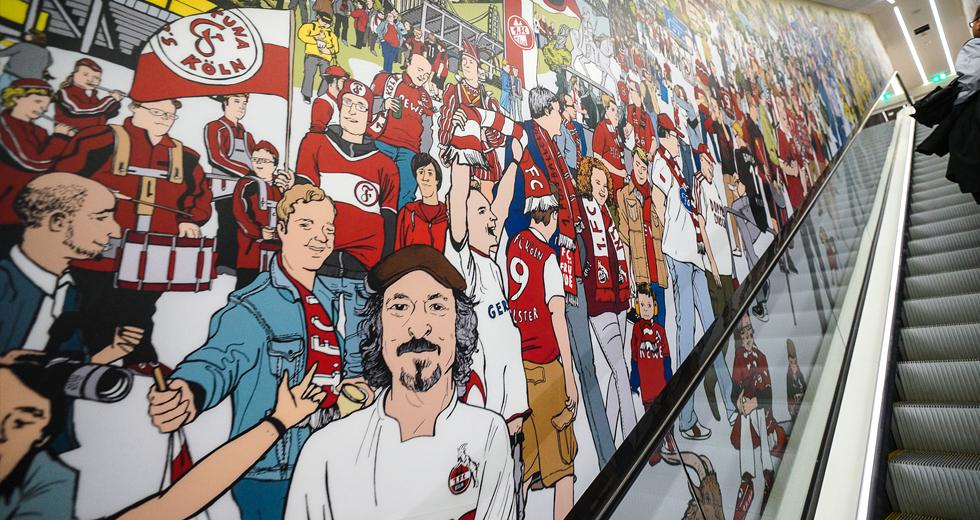 Deutsches Fußballmuseum Wimmelbild